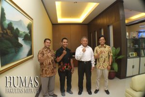 Visit FMIPA, National Education Department of Yogyakarta offer MOU