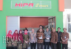 """""""MIPA CORNER"""" Cafeteria Officially Open by UB Rector"""