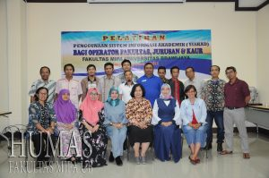 Improve academic services, FMIPA holds training for SIAKAD and SIUDA operators