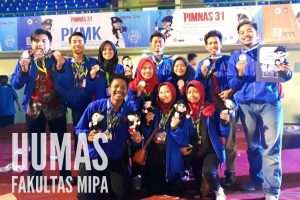 FMIPA team won a lot of medals at PIMNAS