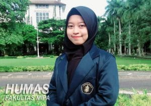 Cintya Paramitha, Biology Department student passed the top 5 in PILMAPRES Universitas Brawijaya